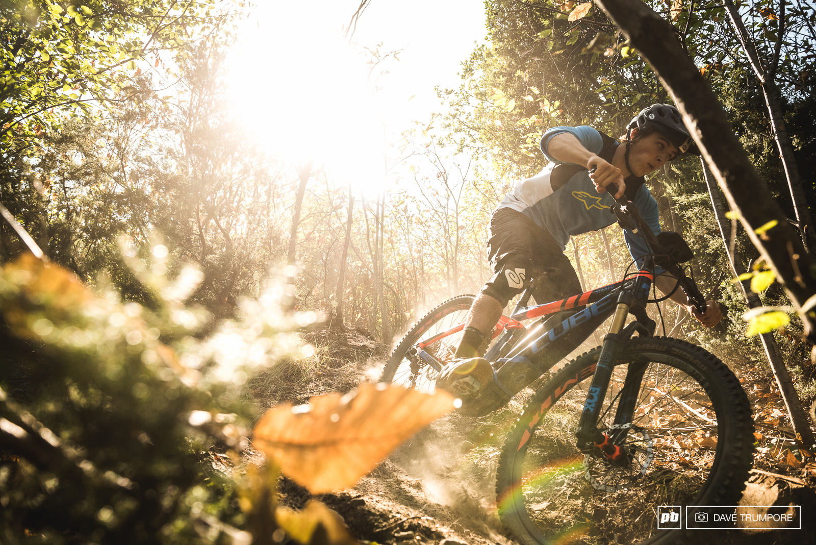 Blazing sun and dusty trails are in store all week here in Finale.