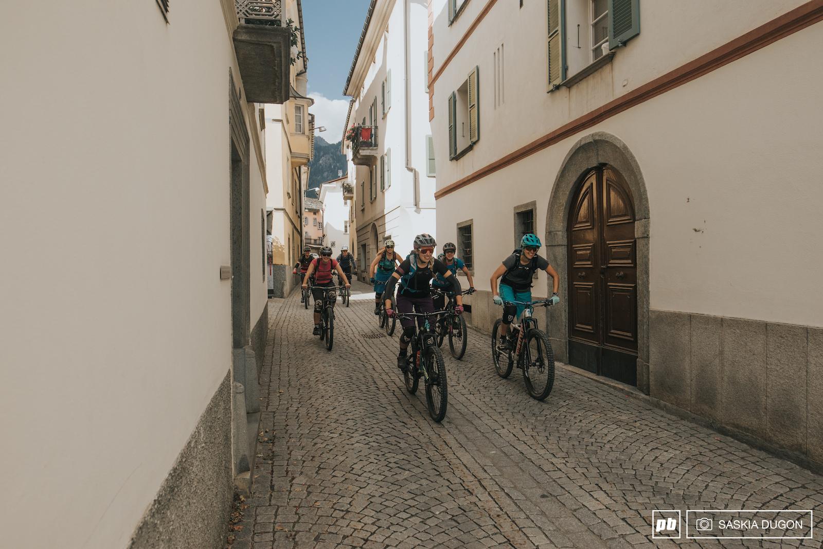 International Women s Mountain Bike Week 2016 - St.Moritz Switzerland