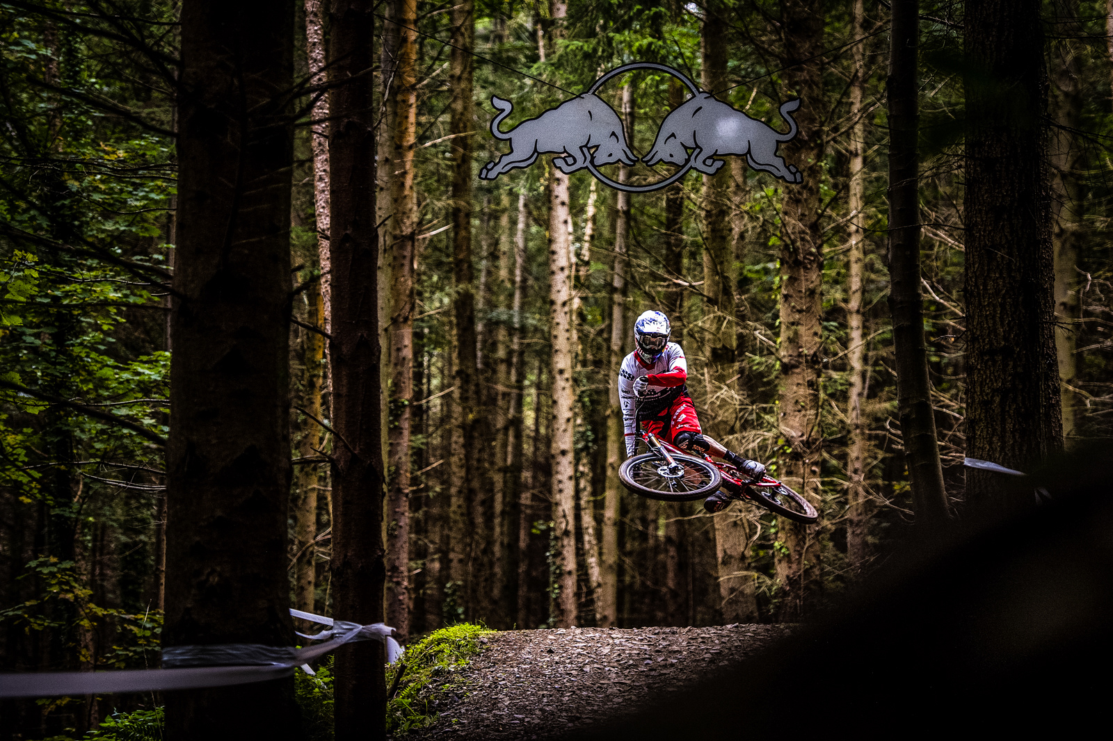 Effortless style from the 2x DH World Champ.