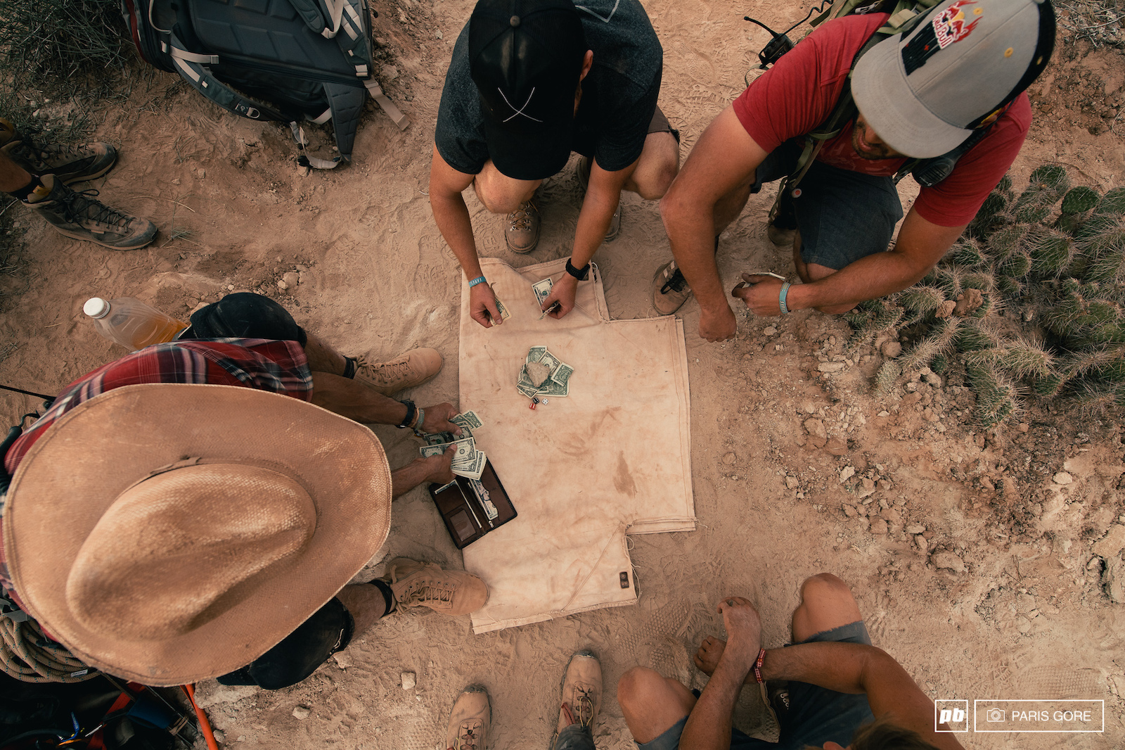 Mid day hood rat games in the desert.