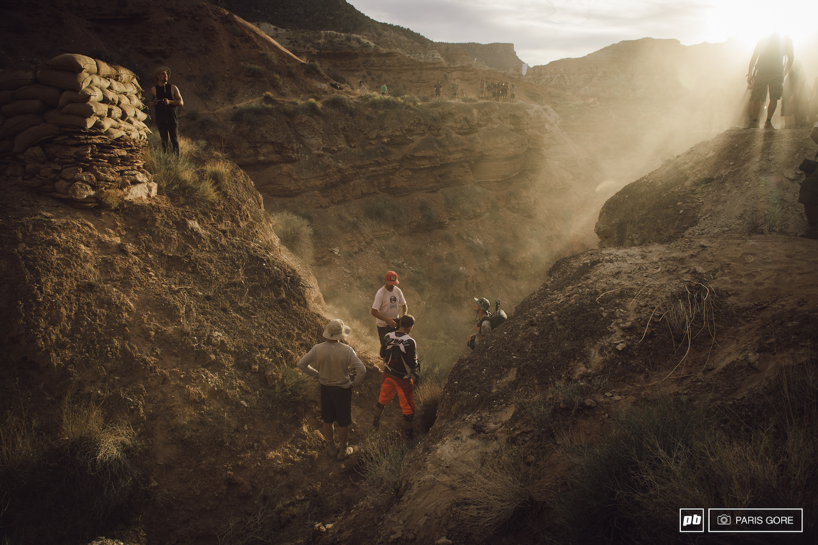 Cam Zink went into the canyon hard. He had been pedalling into the drop to test speed in a high gear hiked way up to roll into the canyon gap only to slip a pedal off the lip while cranking into it.