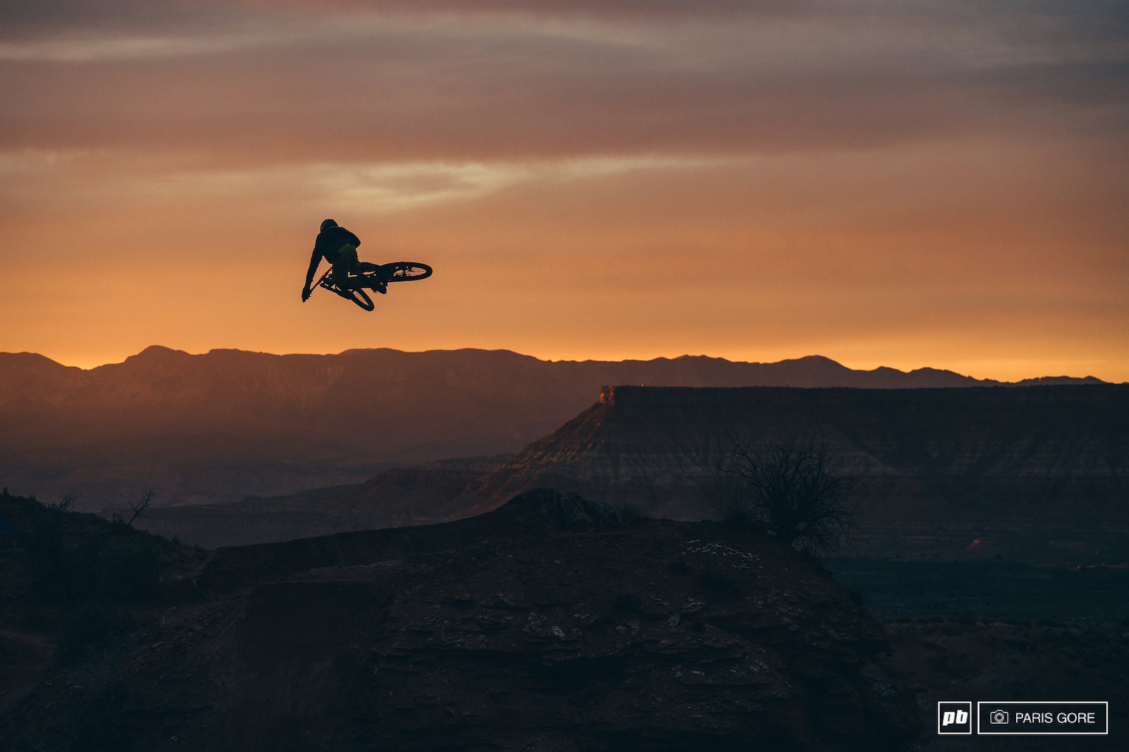 Darren Berrecloth whipping into the sunset.