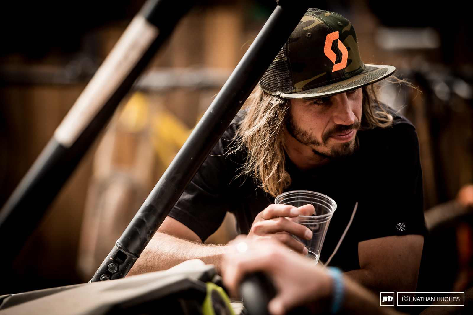 No insane lines out of hell for Nico Vink this year but you ll find him in the judging booth on Friday.