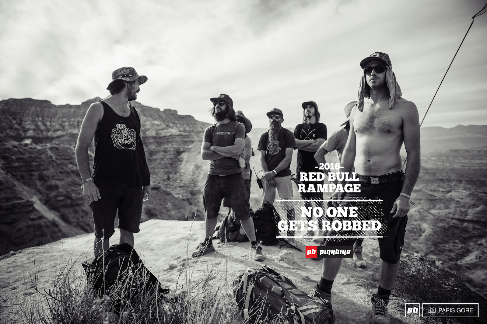 The Red Bull Rampage 2016 Judges