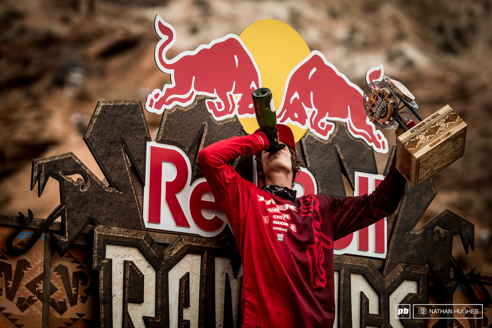 Victory is sweet but the second time is sweeter Semenuk joins the two-timer Rampage elite.