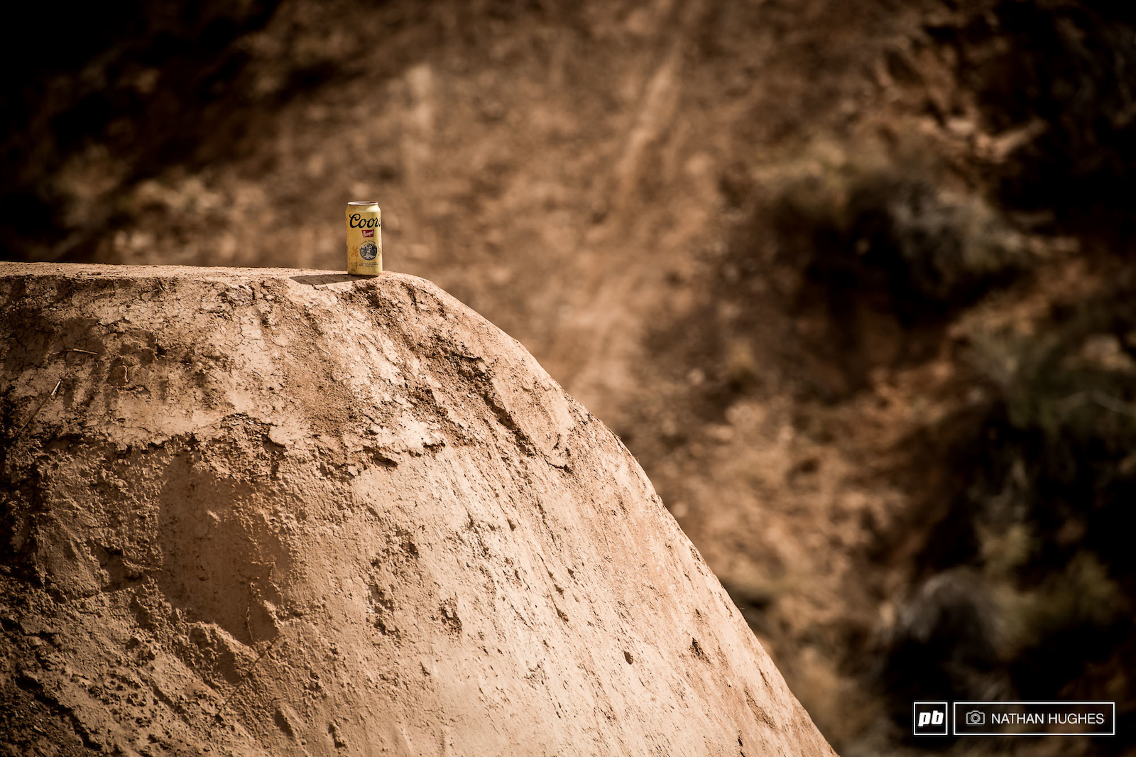 Mark your jumps and drops with a brewski if you want to win Rampage... Semenuk will tell ya.