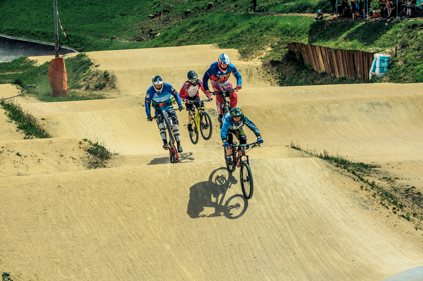 Some of the heats were quite tough on David Graf s local BMX track - Photograher Florian G rtner - Canonite.ch