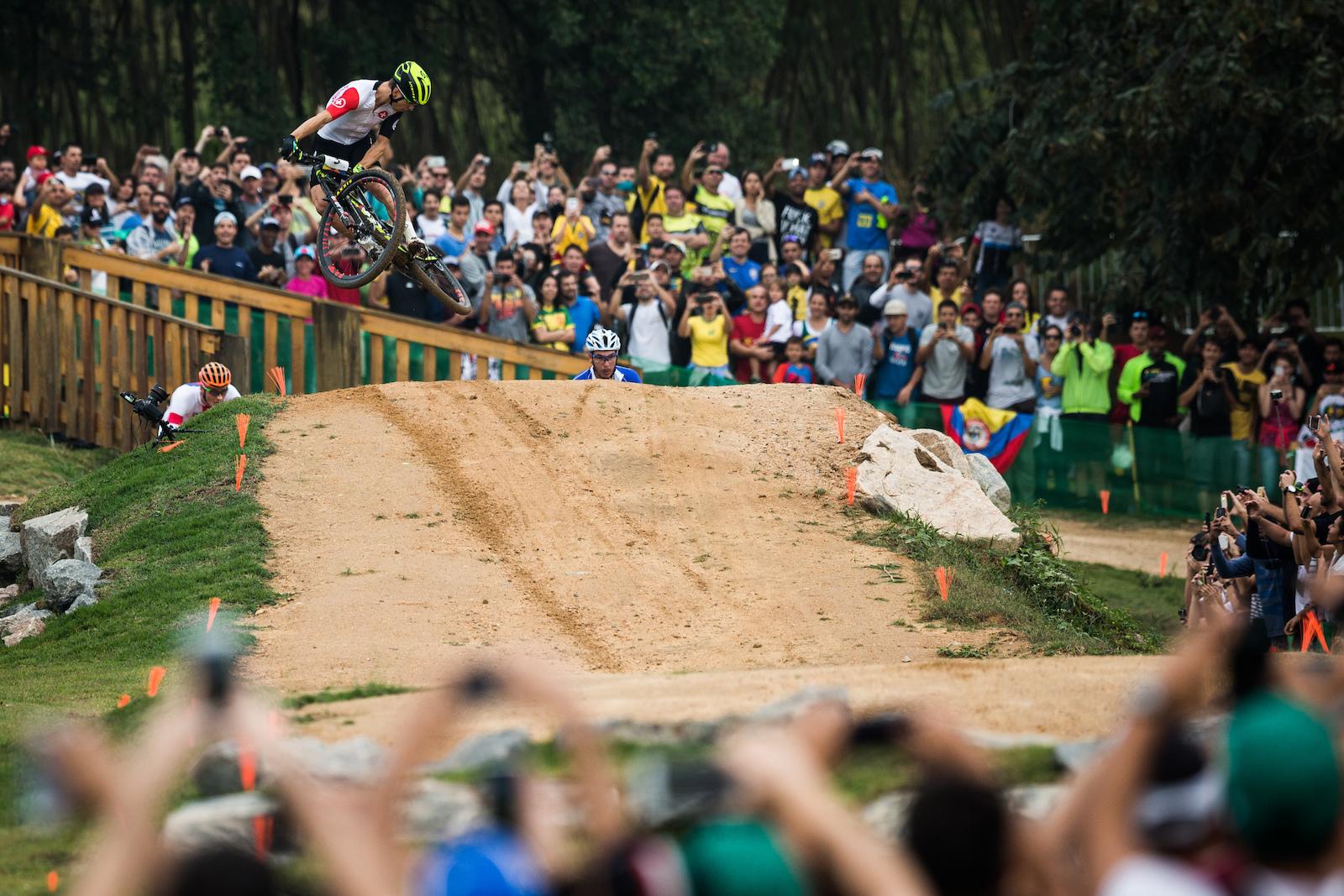 Nino Schurter wins the Olympic XC race 2016