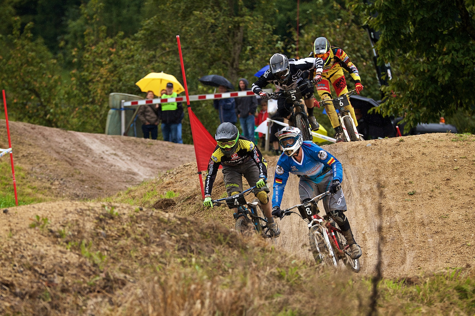 The track in Leibstadt offers a lot of overtaking possibilities - Photographer Valentin Mueller