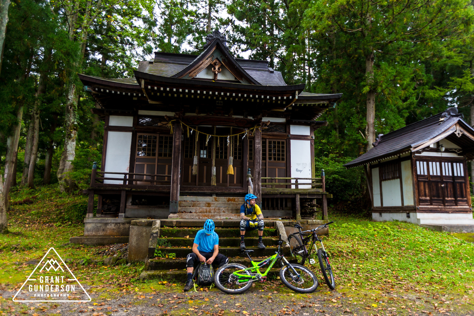 Geoff Gulevich KC Deane Mountain Biking in Myoko