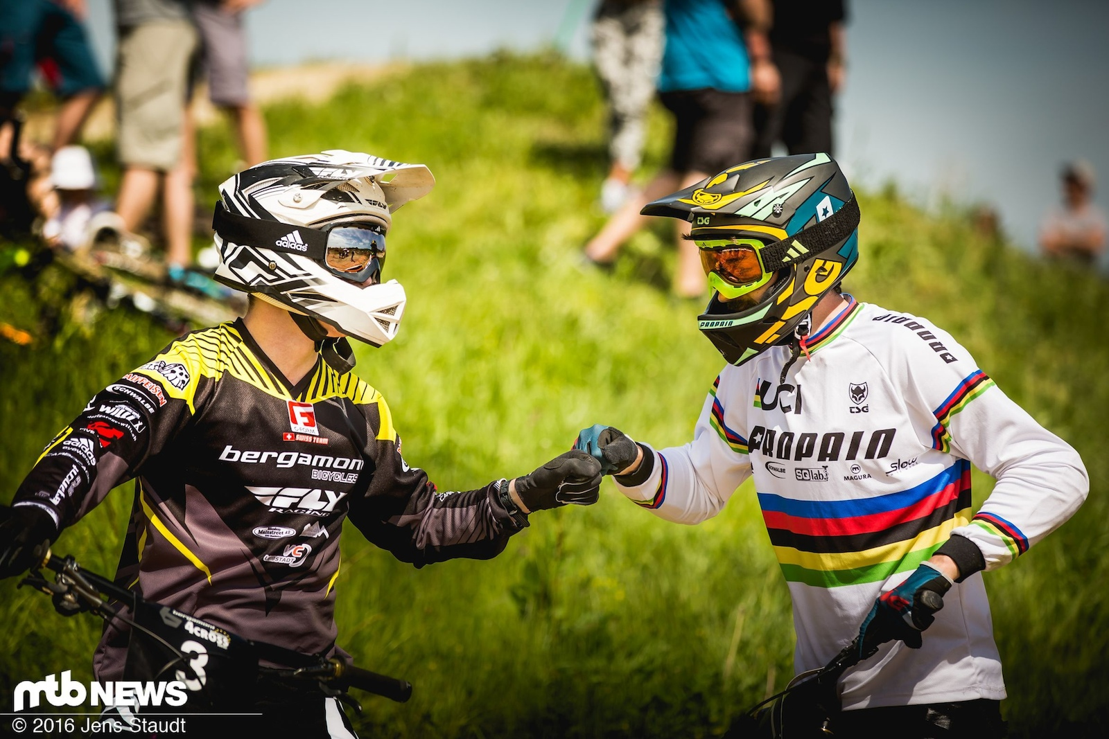 4Cross is simply a great and fair mountainbike sport - Photographer Jens Staudt