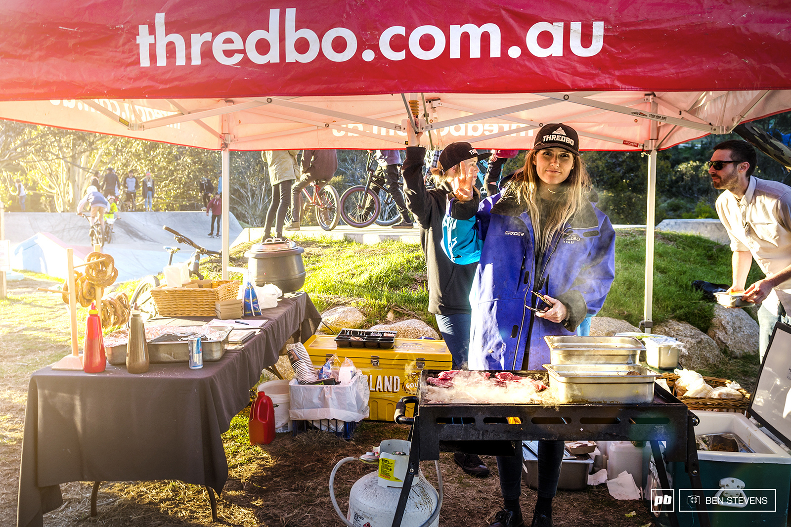 Wouldn t be an Aussie event without a Barbie