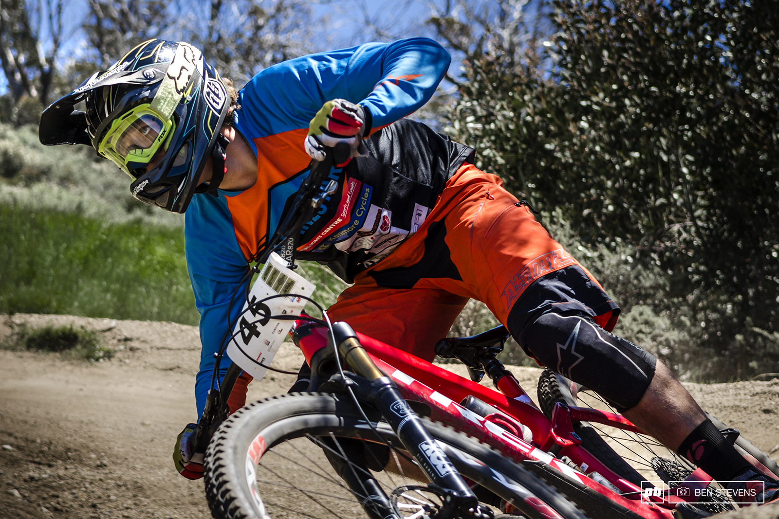Ben Forbes looked quick all weekend taking the win in the Canyon All Mountain Assault