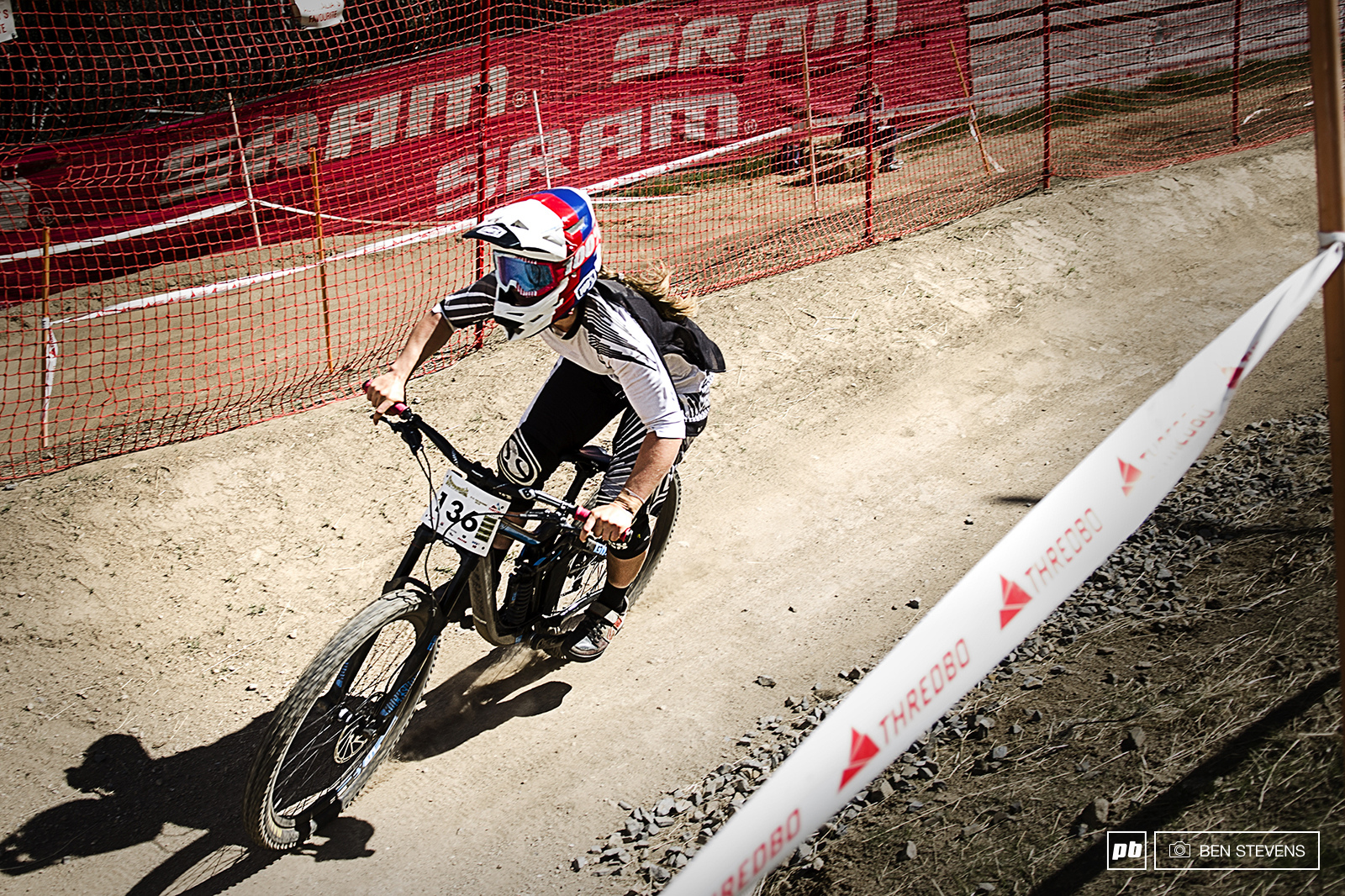 Ronja Hill-Wright s race to 3rd place for elite womens DH