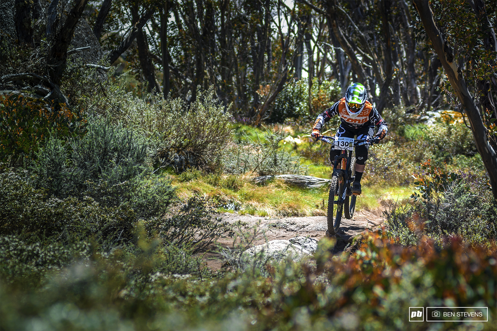 Tegan Molloy almost full enduro.