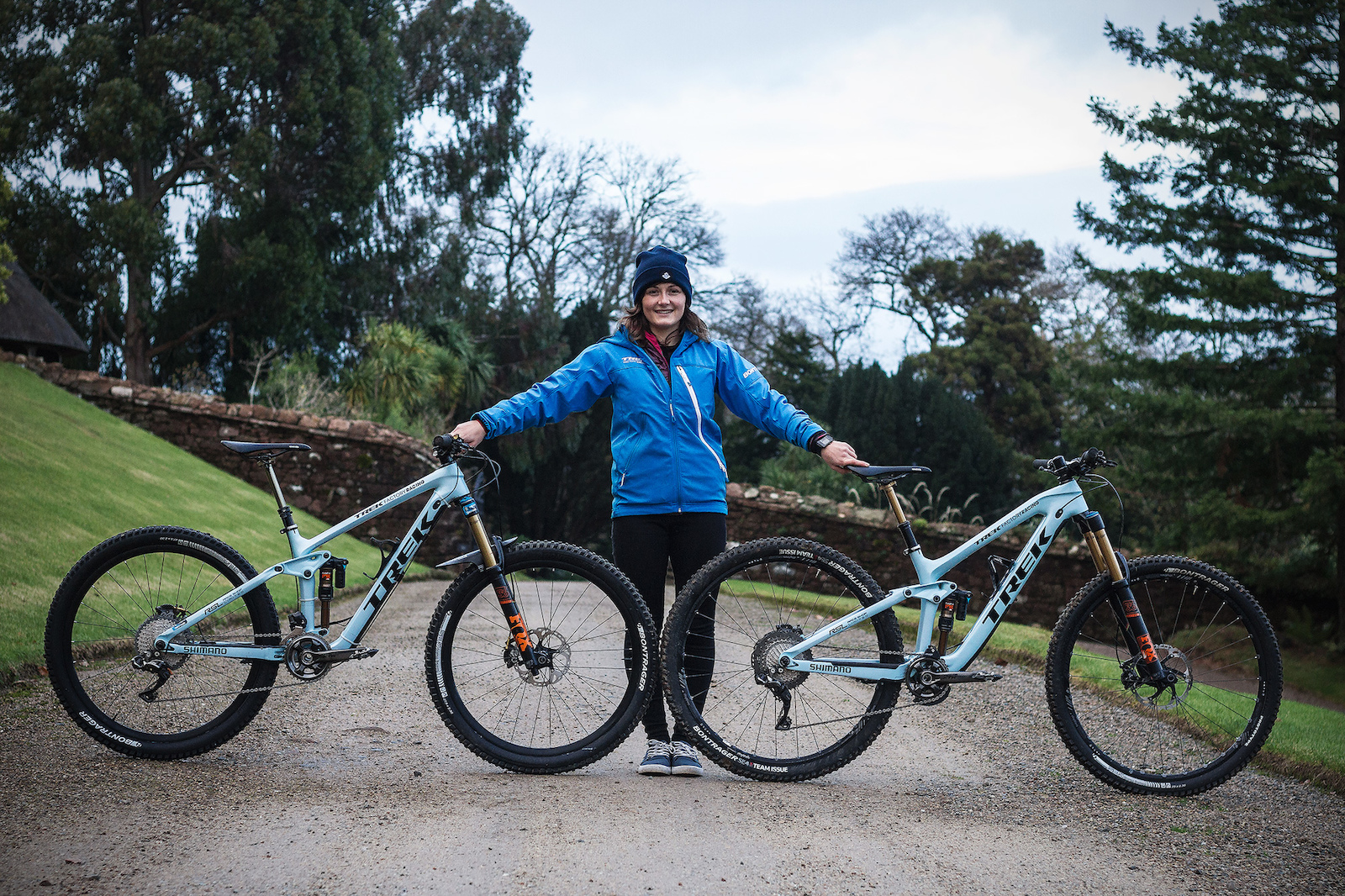 02243d70a42 Katy Winton's Factory Trek Slash 29 and Remedy 27.5 Race Bikes ...