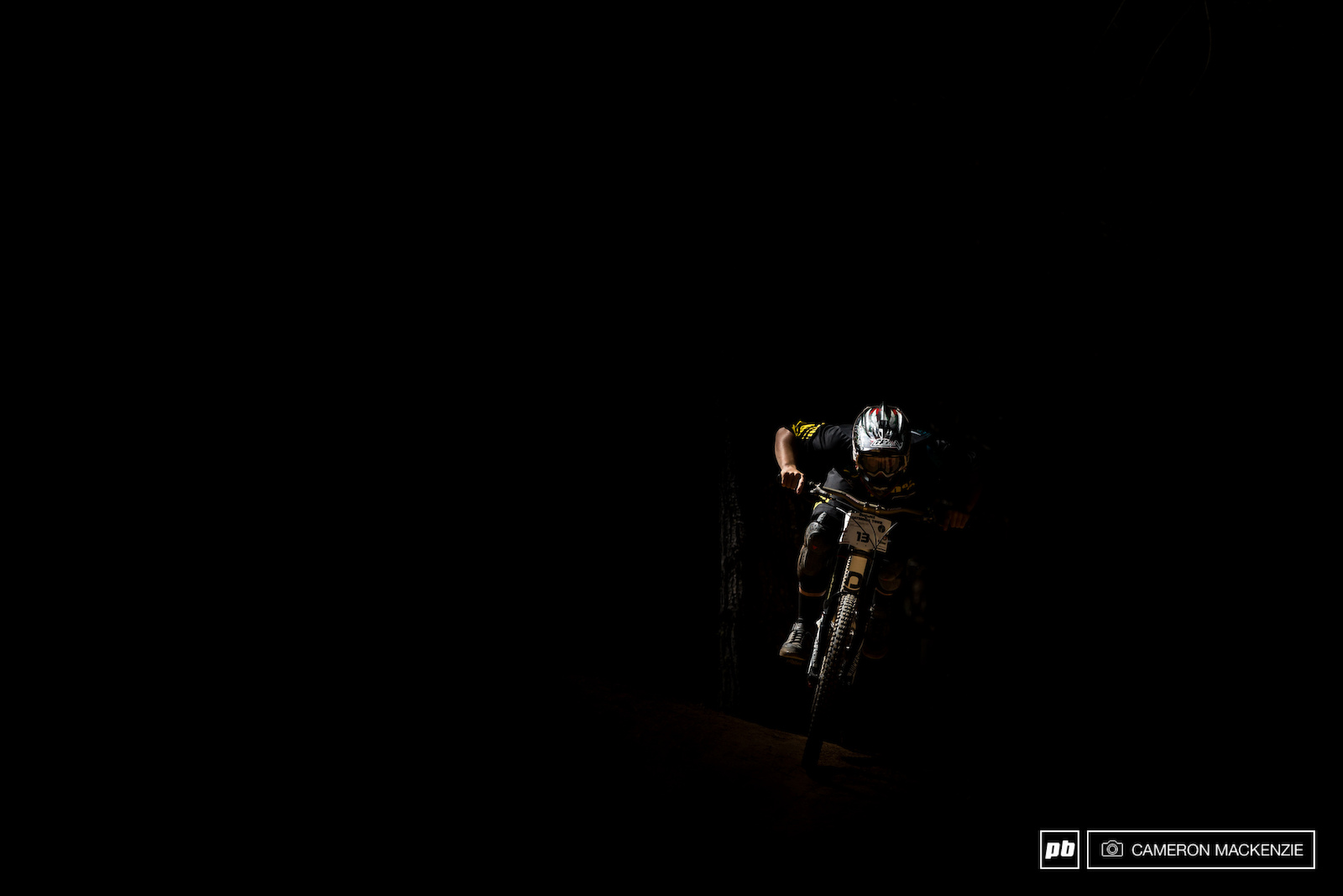 Liam Jackson putting the dark days of MTBNZ drama behind him and riding into the light.