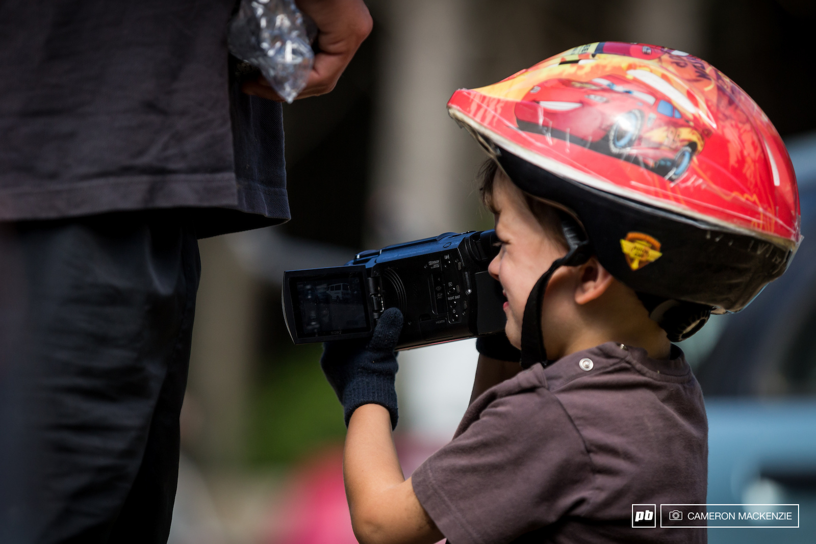The next Joe Bowman. I d say it will still be a few years before his raw videos are up to standard though and he point the camera in the direction of the action.