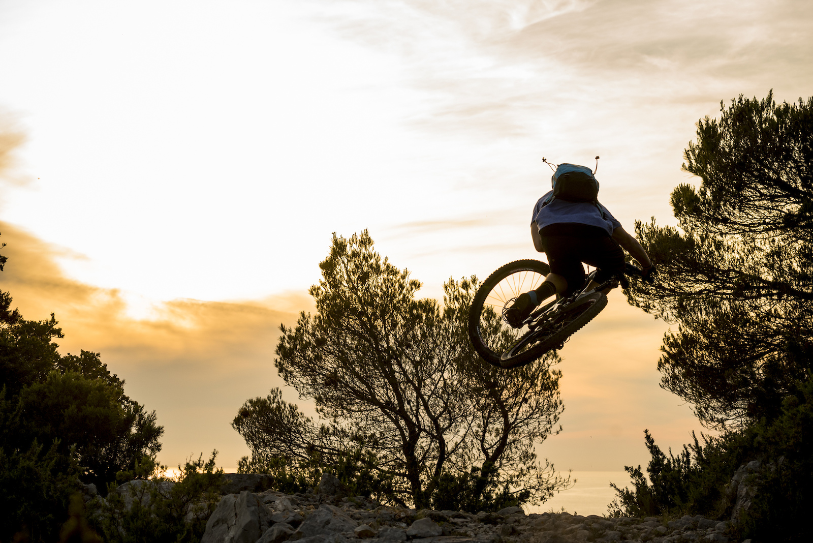 Natural roller fun on Vis island s trails.