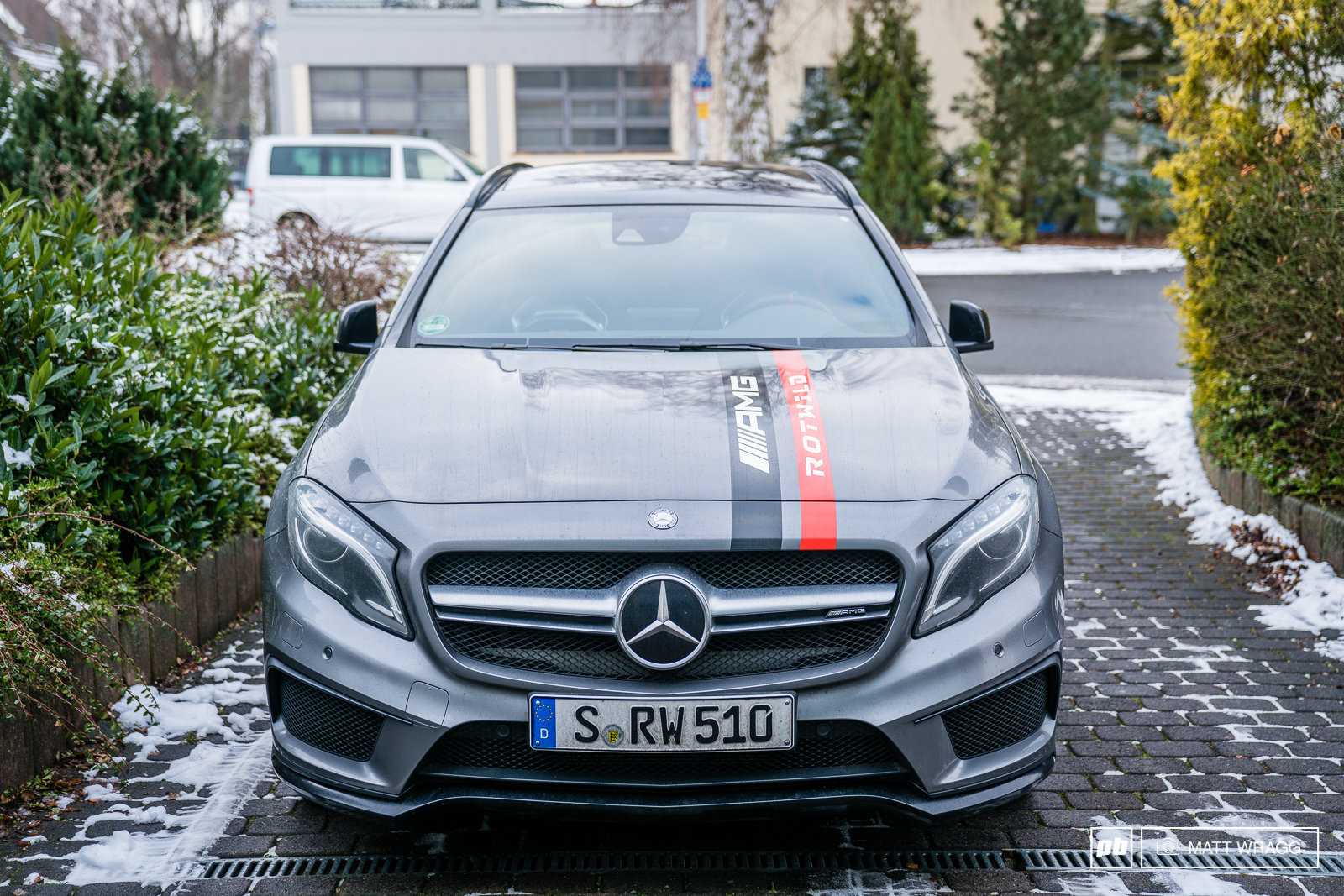 How about one of these AMGs for a company car Because of their partnership with AMG this is the car the Rotwild AMG athletes arre provided with. Unfortunately they are not taking applications...