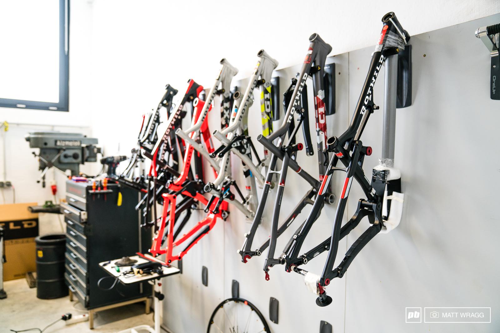 Inside Rotwild Bikes