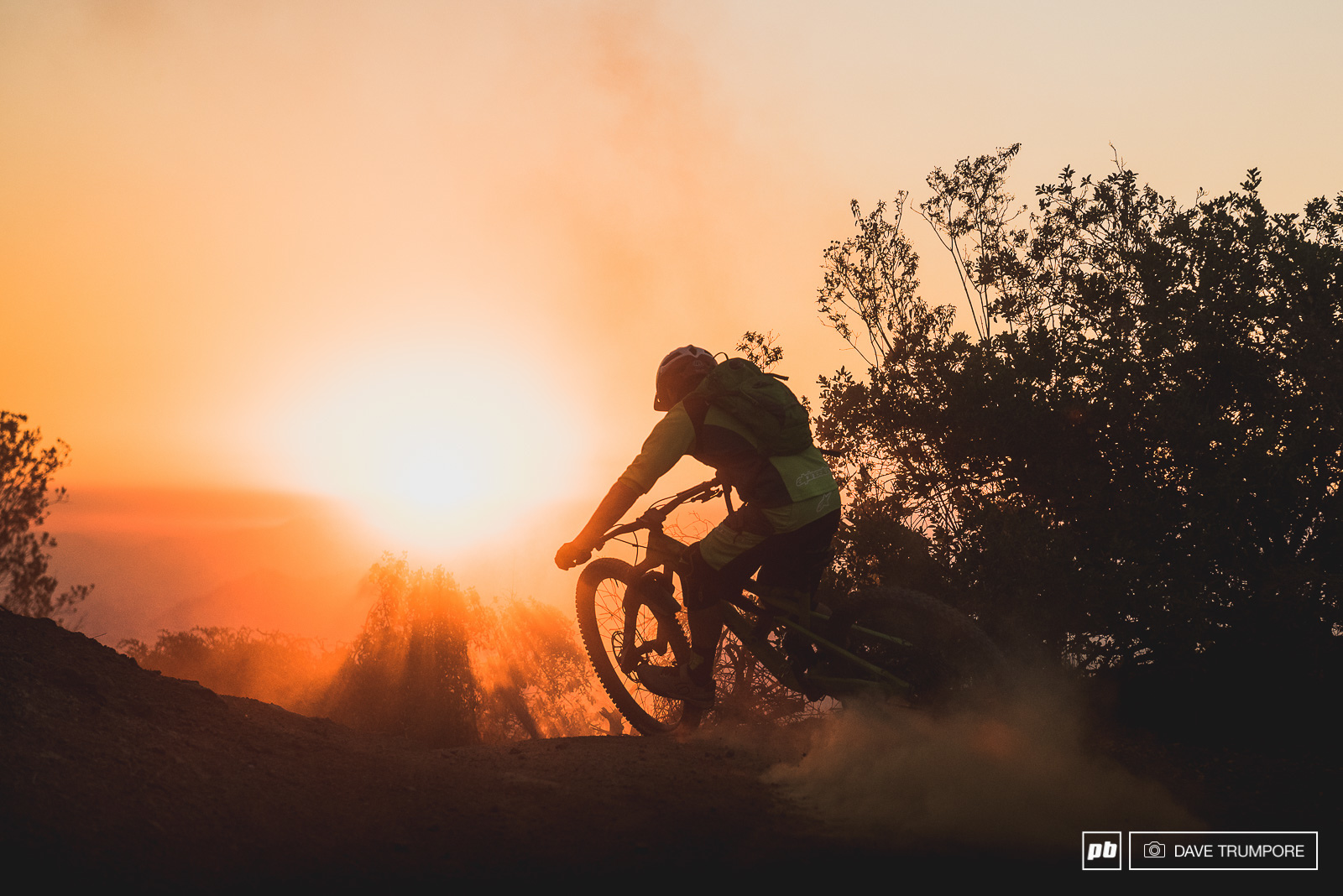 Jerome Clementz drifts into yet another epic Chilean sunset on the eve of his first big race in 2017.