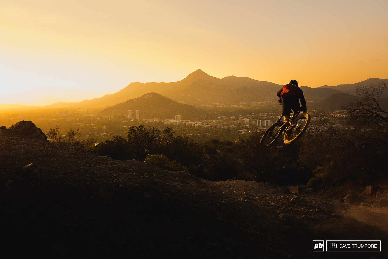 Santiago CHile is home to over 5 million people. all of who have increadible riding right out their back doors. Uopn arival we rode the hills in the background and on the second day in Iago Garay tried to jump the sunset from the opposite side of town.