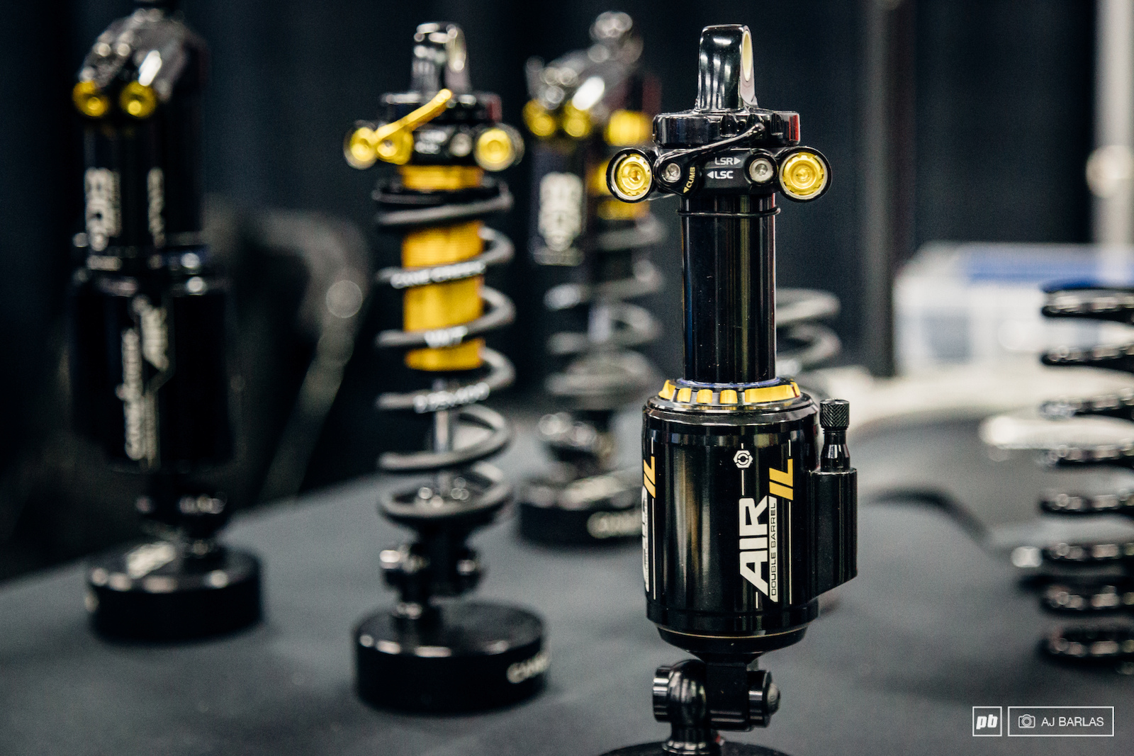 Cane Creek s recently released Air IL rear shock.