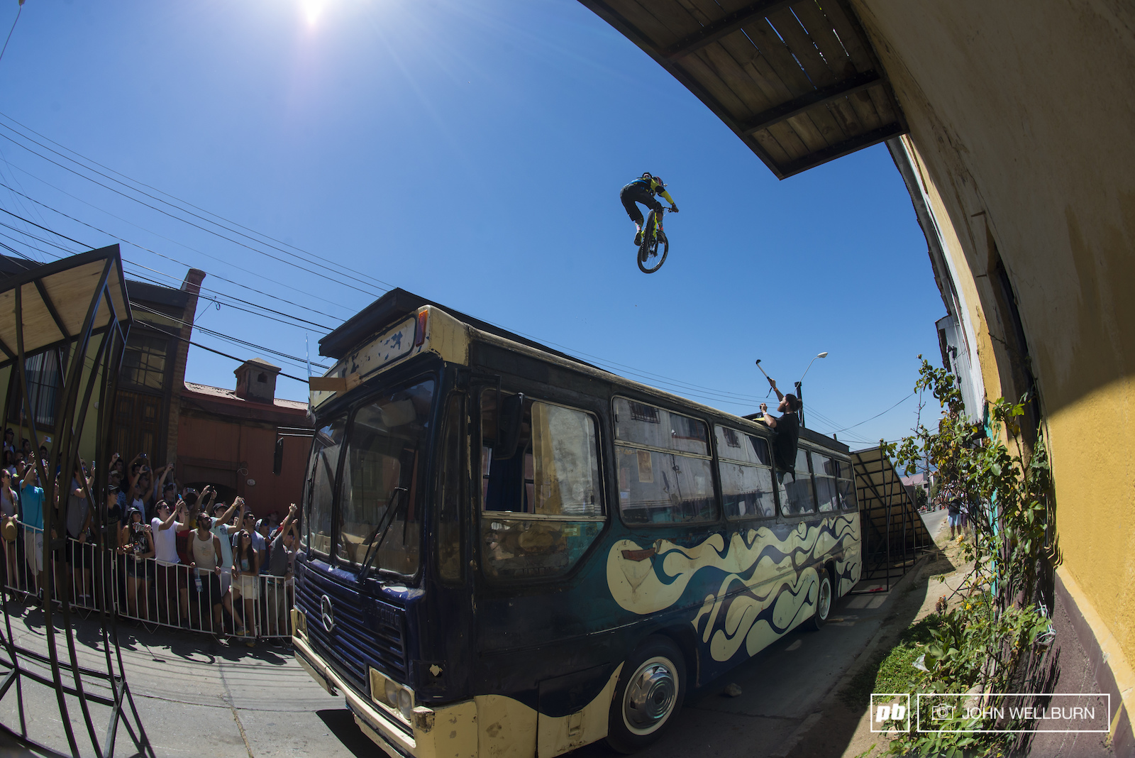 Felipe Argurto is one of the fastest riders in Chile right now. He s young and on top of his game. He had the biggest air and best style by far on the bus gap. Here he sends his way into the top ten.
