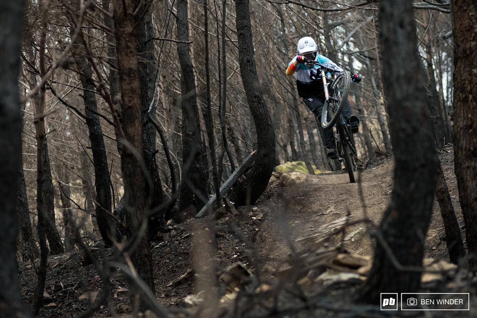 Canyon Sender Bike test