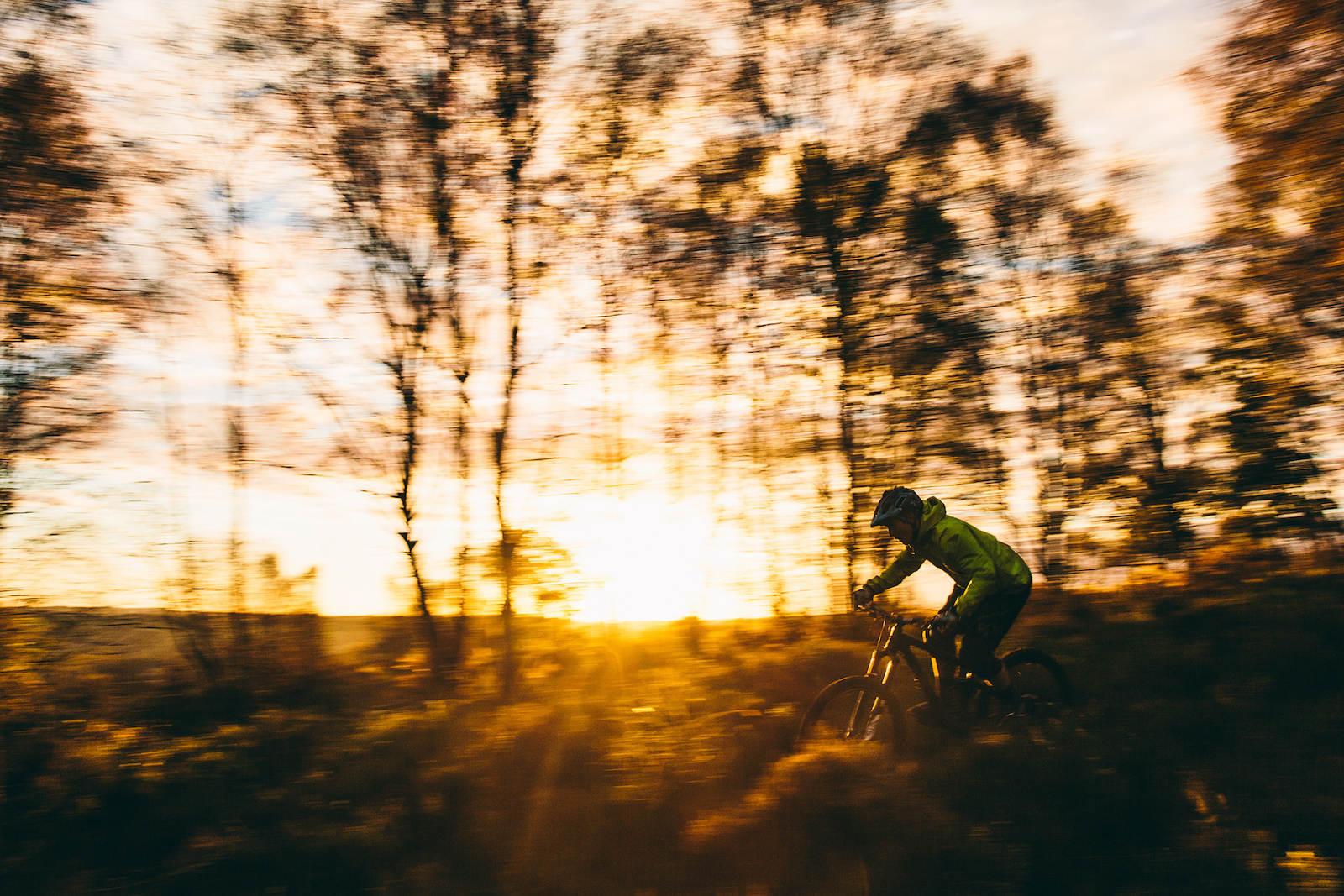 Riding the Airdrop Edit on our local trails in Sheffield for the Golden Hour video