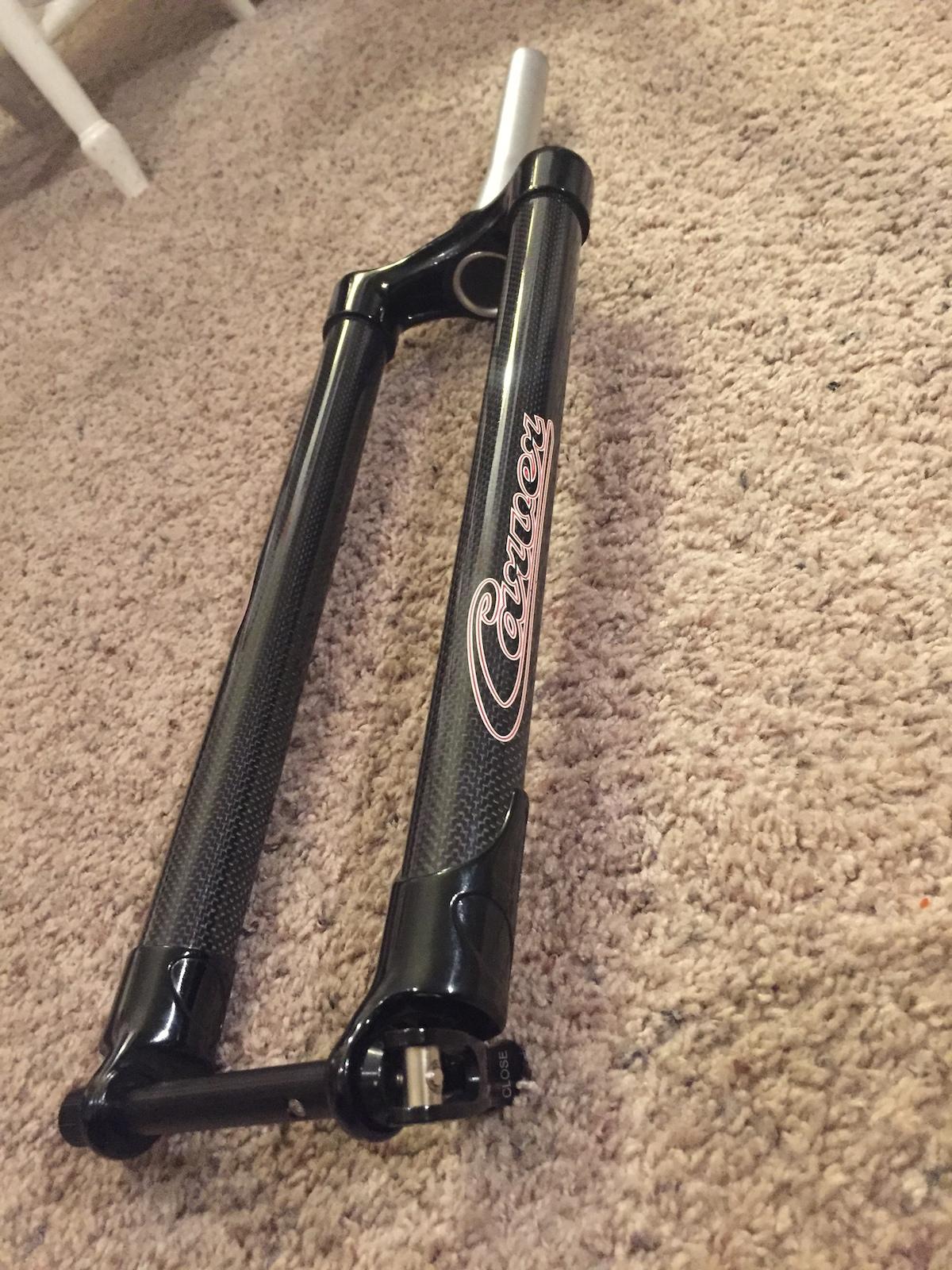 2015 Carver Bikes Carbon 29+ Mountain Disc Fork