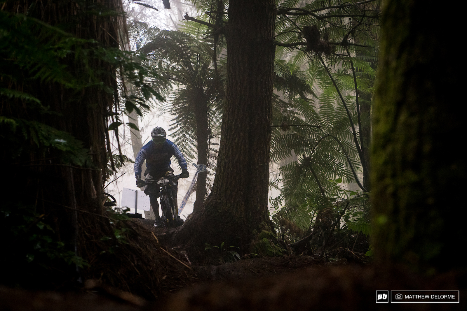 Sam Hill proving that the move to Enduro was a good one.