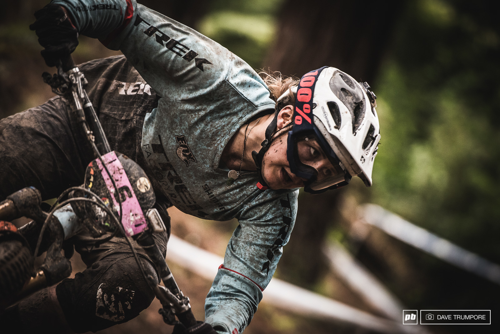 Katy Winton won her first EWS stage today and would come 5th overall to kick off the season.