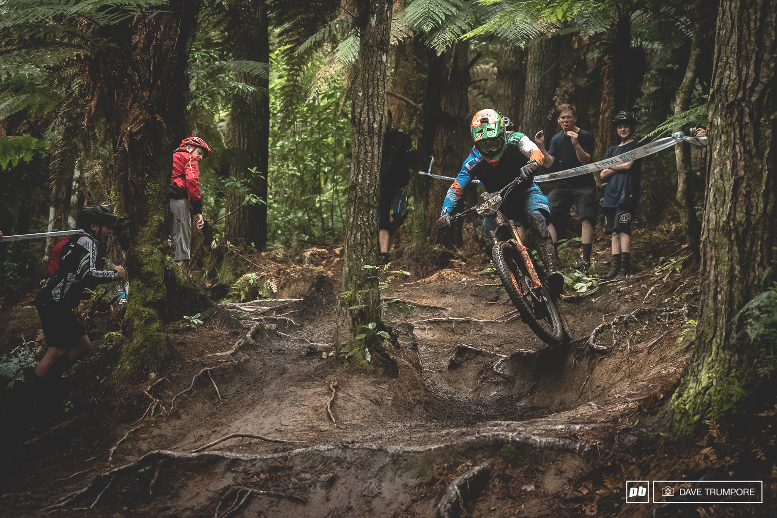 As an Irishman Greg Callaghan knows a thing or two about how to ride mud and roots.