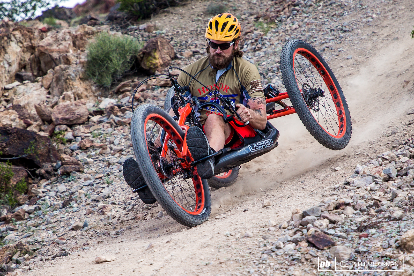 A highly inspirational Handcycle Enduro was featured at Reaper Madness. Three adaptive athletes competed in a Super D a Downhill and the Dual Slalom.