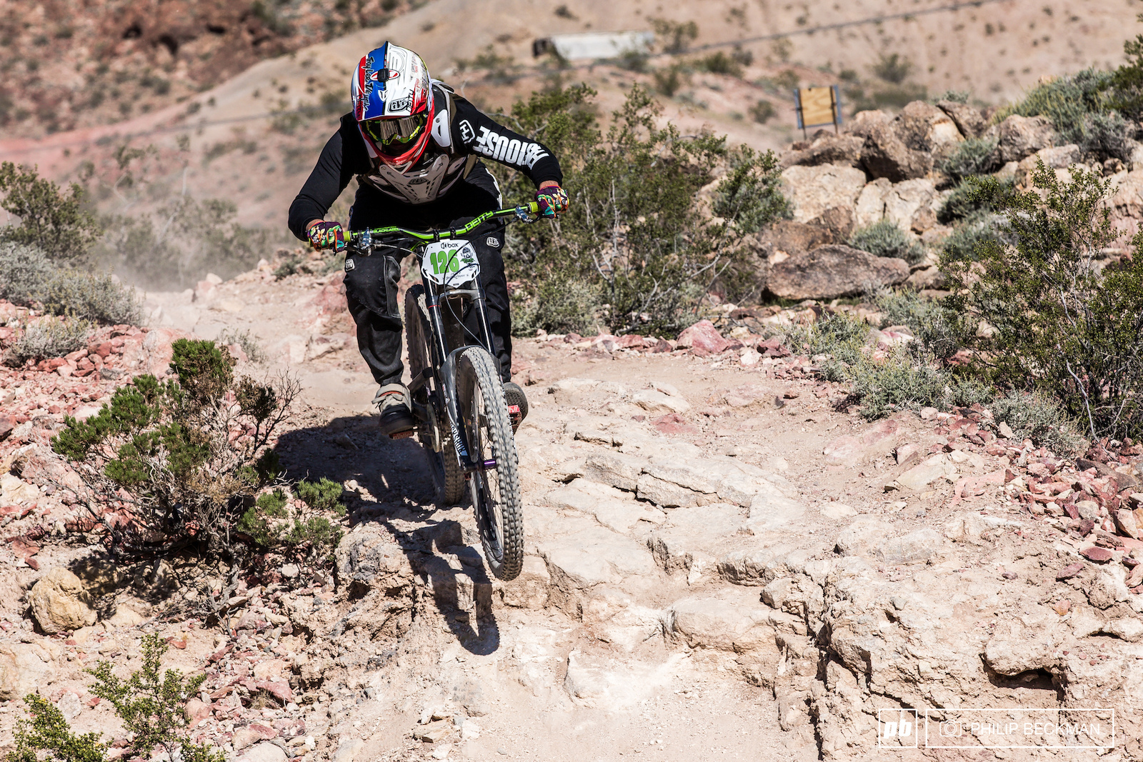 Sean McClendon Deity 2SIX Stallions topped the charts in the Open Men s Downhill.