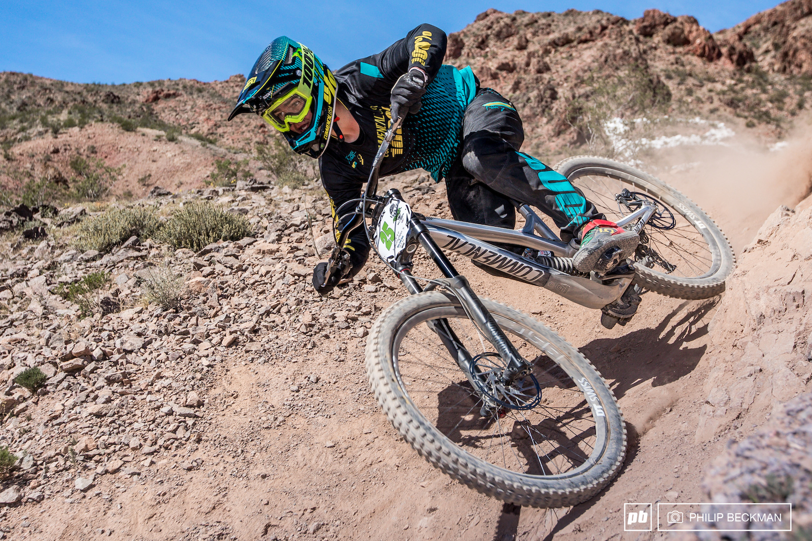 Steven Walton Commencal set the fourth best time of the day in the DH. But it was also the best in his class Cat 1 Men 17-18 otherwise known as Junior Expert.