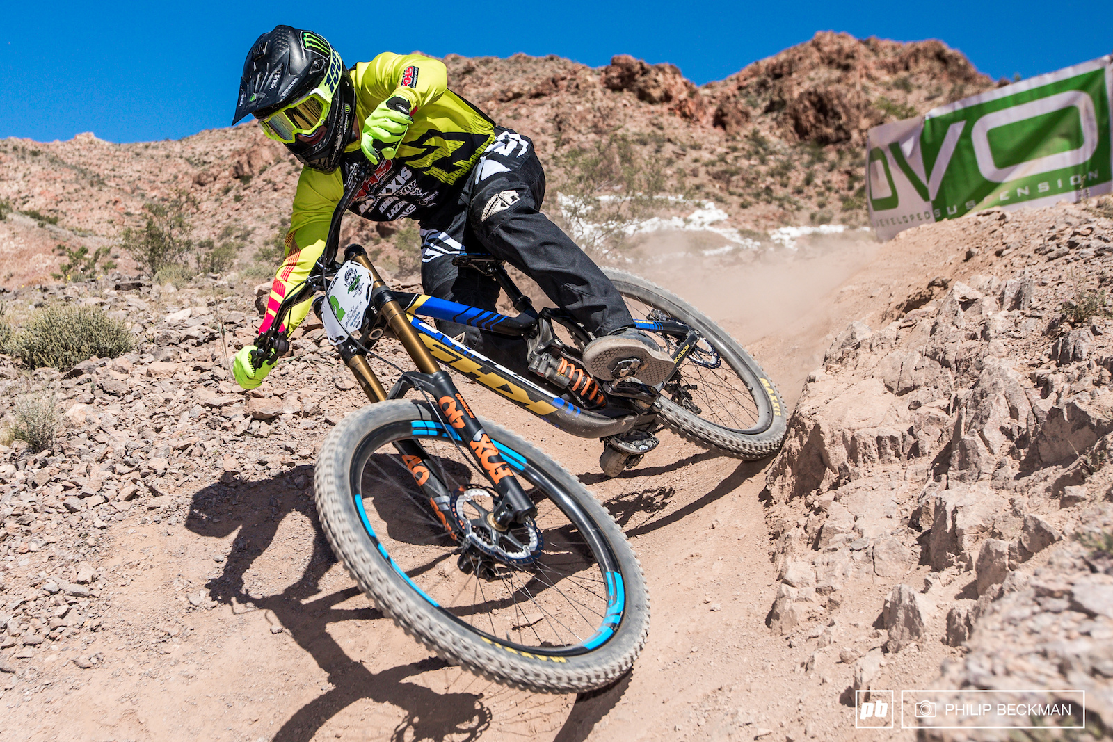 Logan Binggeli KHS Factory Racing donned the overall DVO Winter Gravity Series crown with a smooth second place at Reaper Madness.