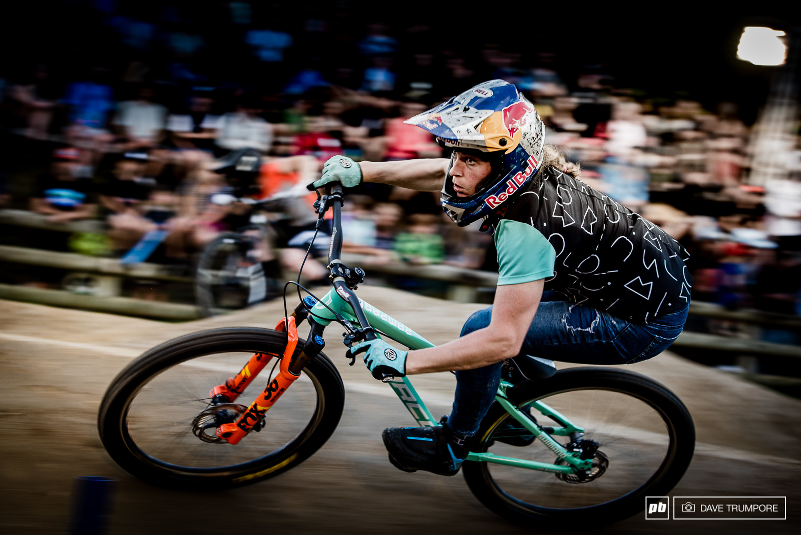 After winning all three pump track events at last year s Crankworx Jill Kintner found her match in Rotorua.