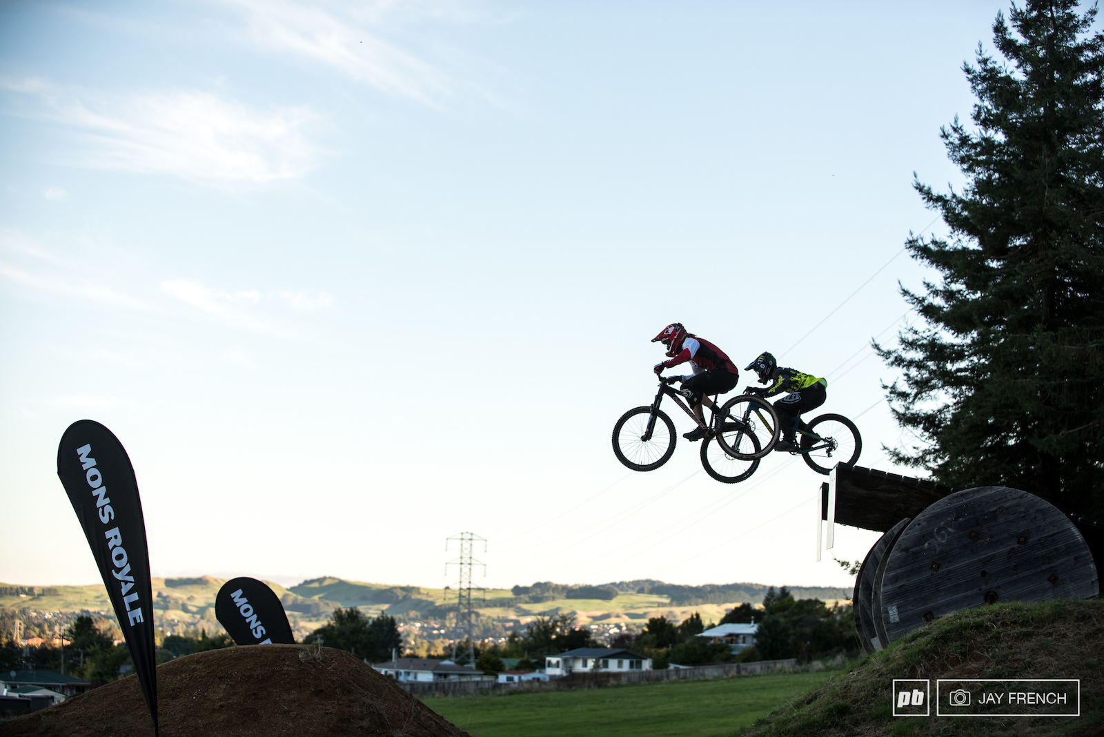 Berms Hips and Front Flips