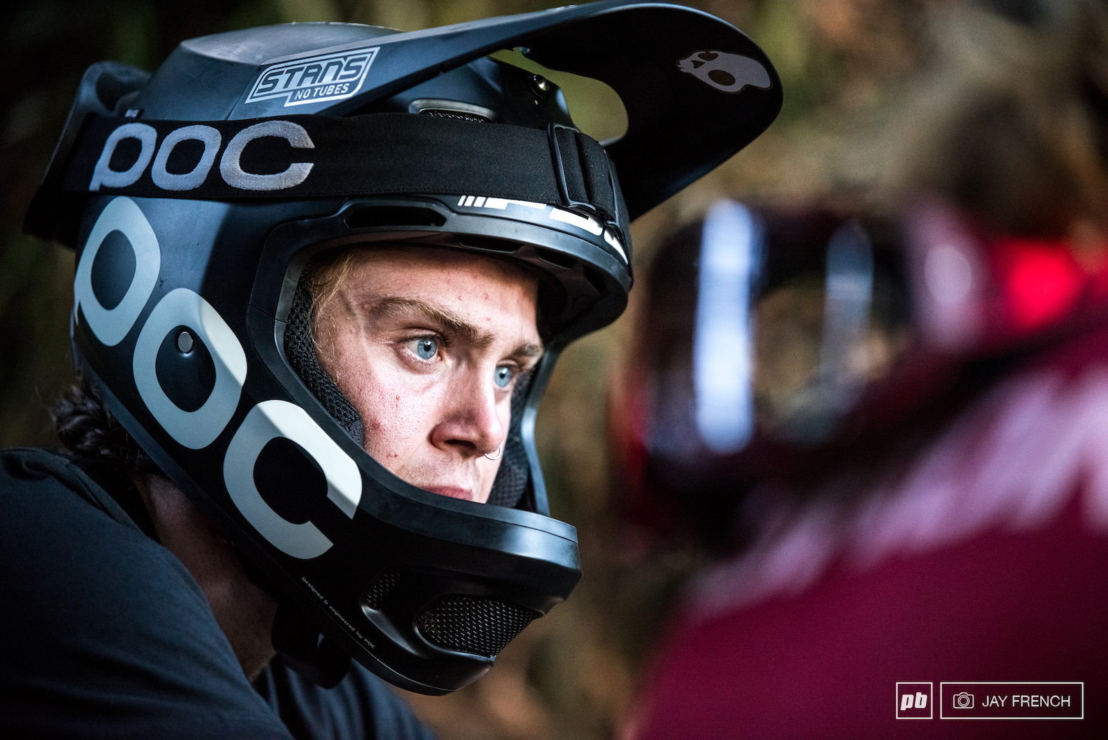 Serious contender for King of Crankworx Keegan is taking this very seriously.