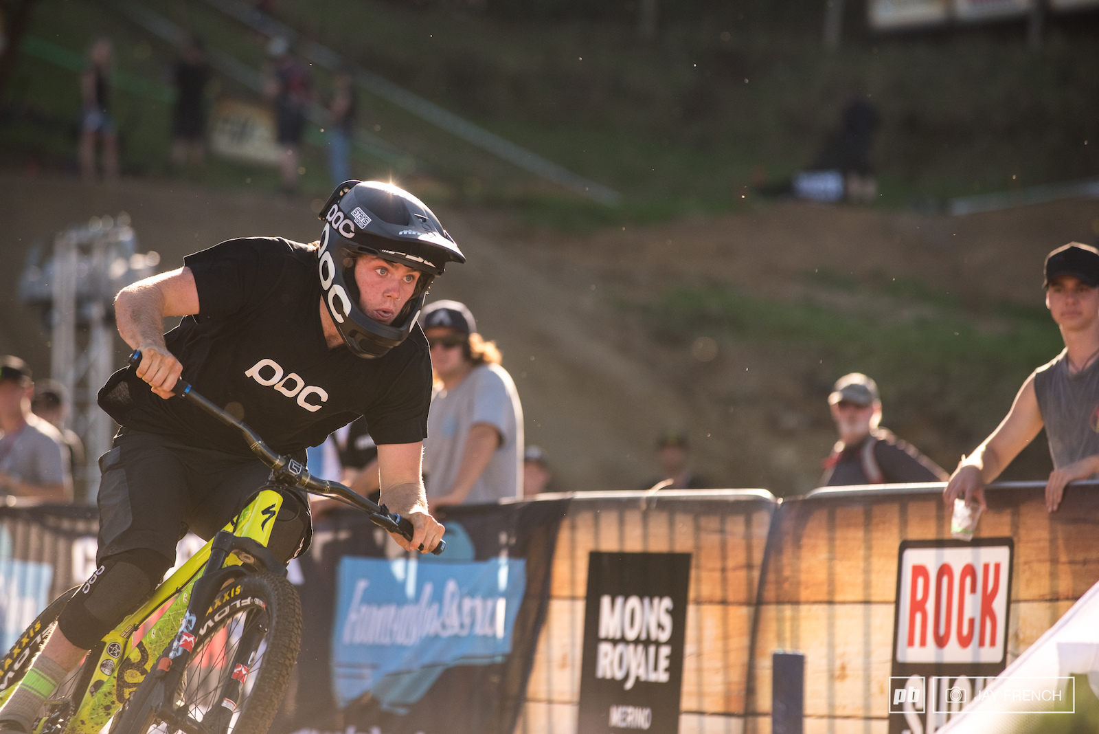 One of the three New Zealanders to make it in to the 1 8th final Keegan was keen to get more points toward a potential King of Crankworx title.