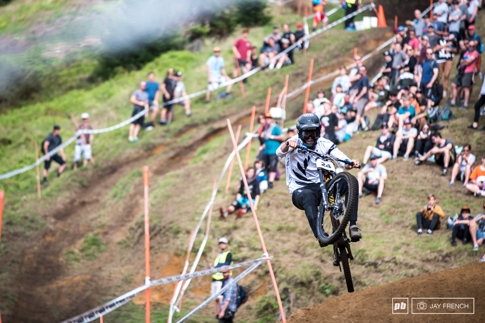 Top ten finish for Keegan keeps him in the running for King of Crankworx.