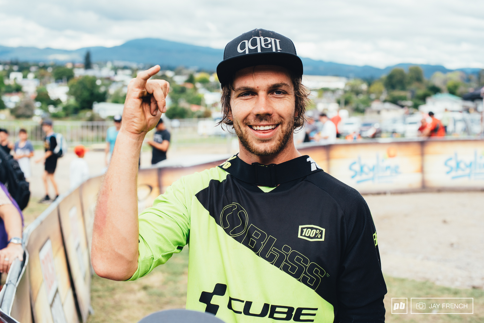 Matt Walker with another podium taking the King of Crankworx title again.