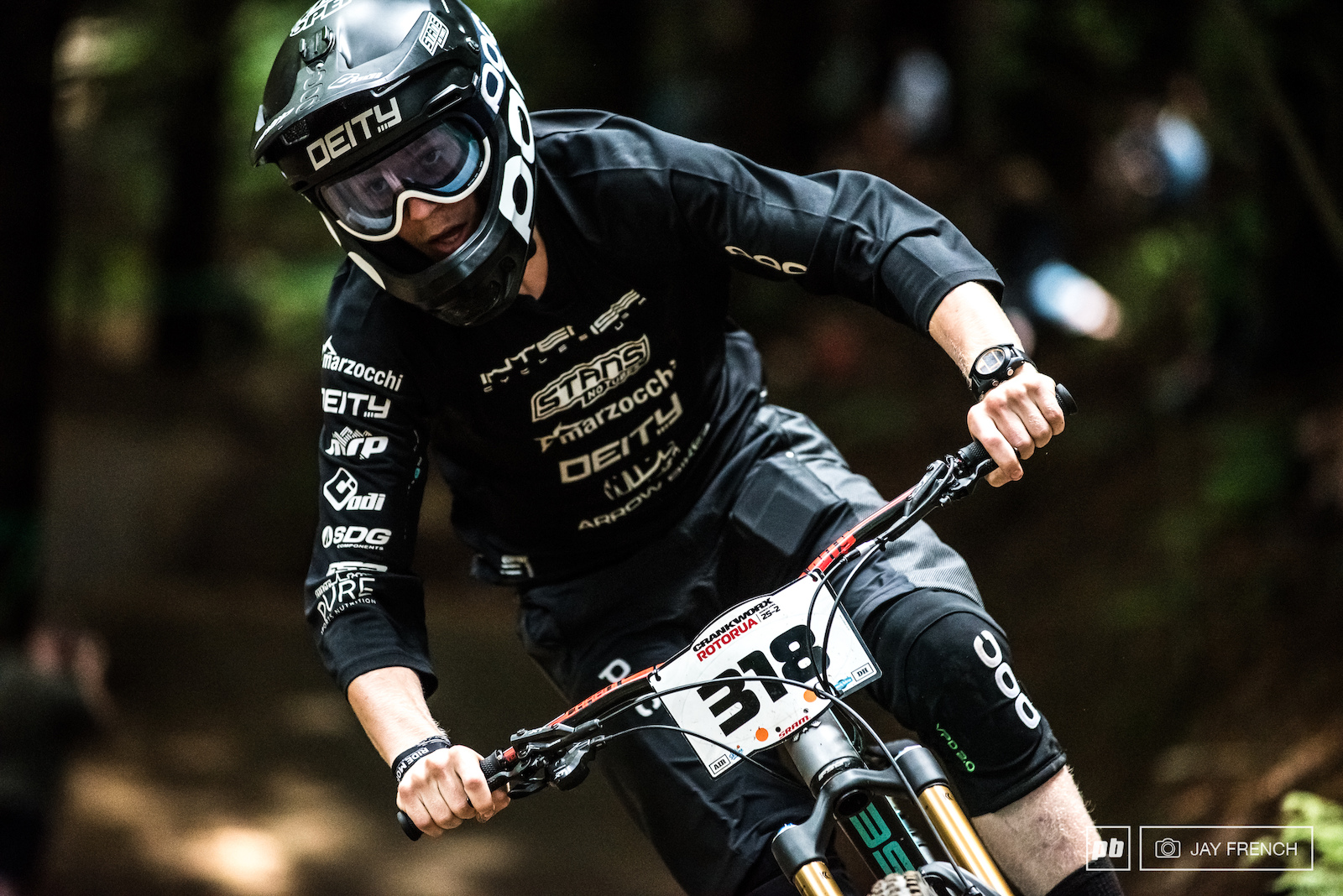 Sam Robbie rocks the blackboard look in todays Air DH.