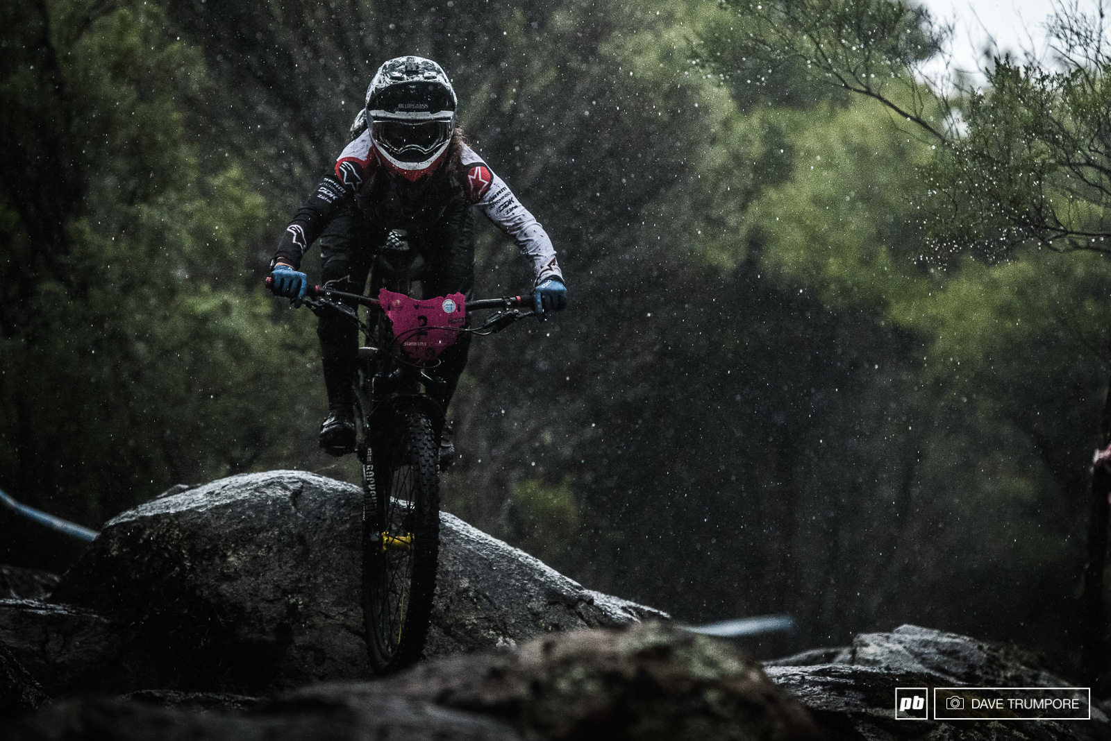 Unstoppable and determined Isabeau Courdurier came out swinging with three stage wins to take her first EWS race victory.