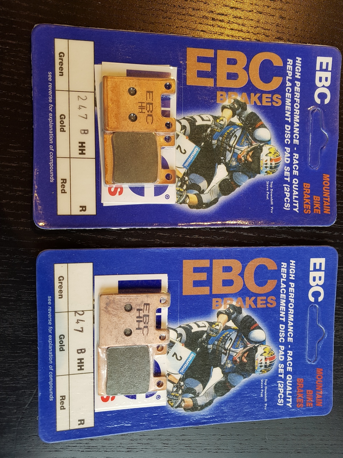 0 Hope EBC Gold brake pads (NEW!)