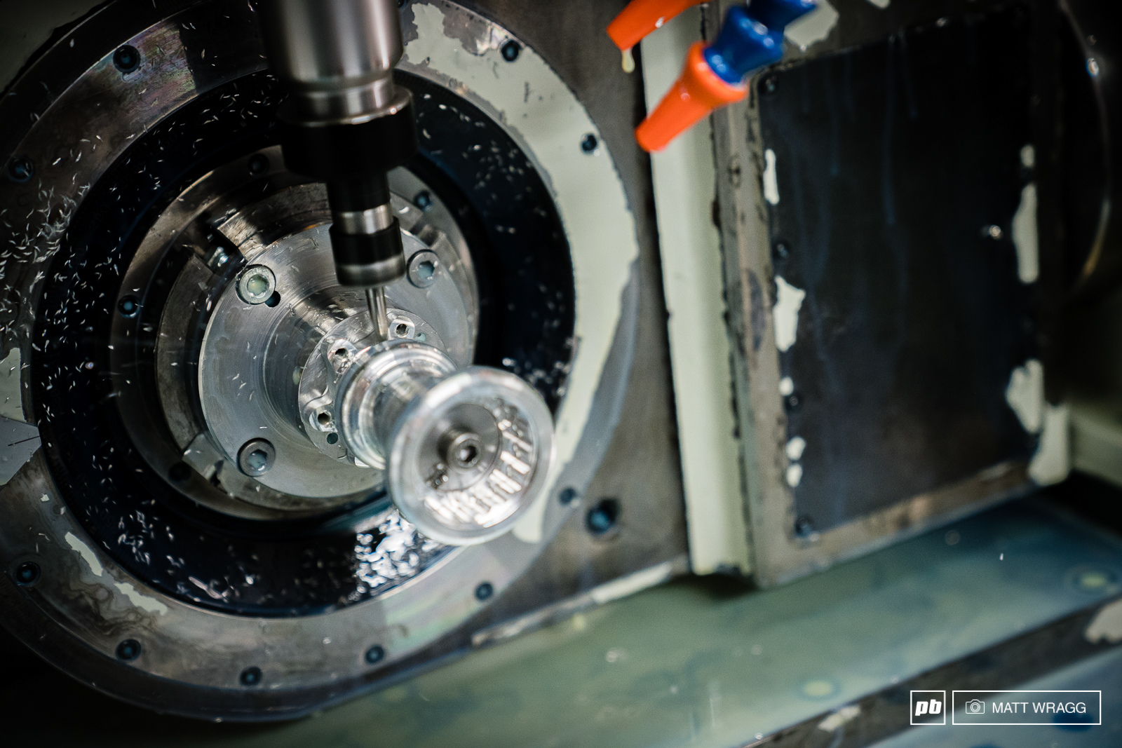 The second machining is for the fine detail and precision removing any excess material.