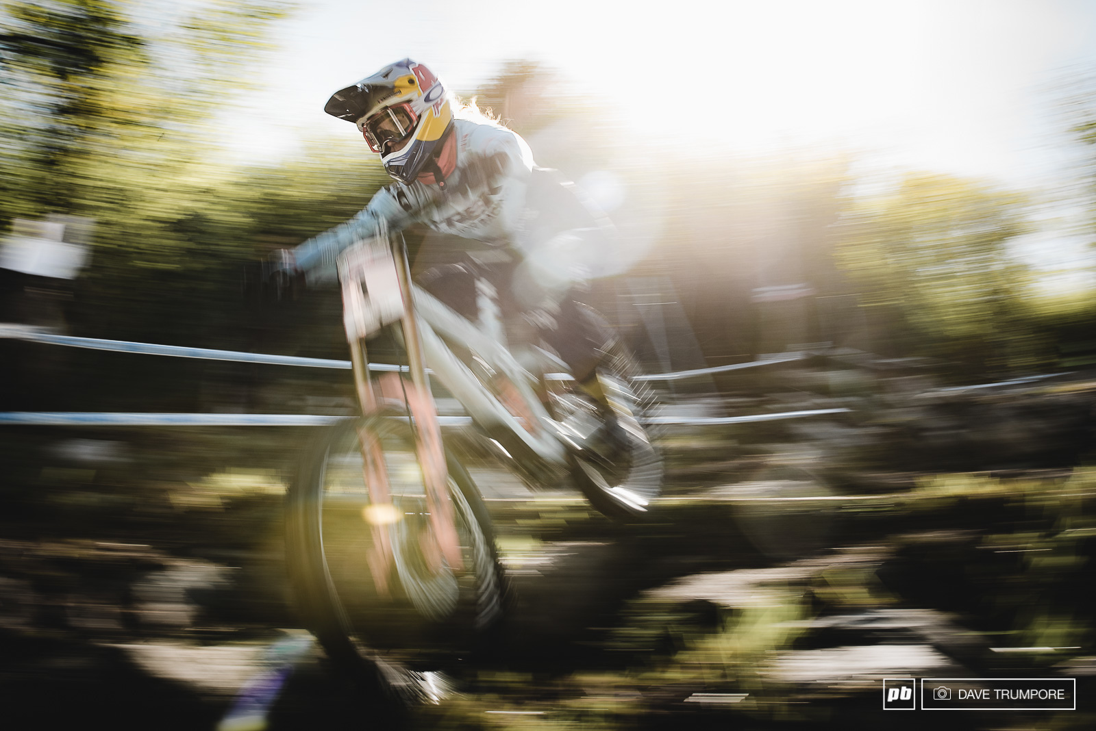 PanshotFriday with Rachel Atherton and a French sunrise.